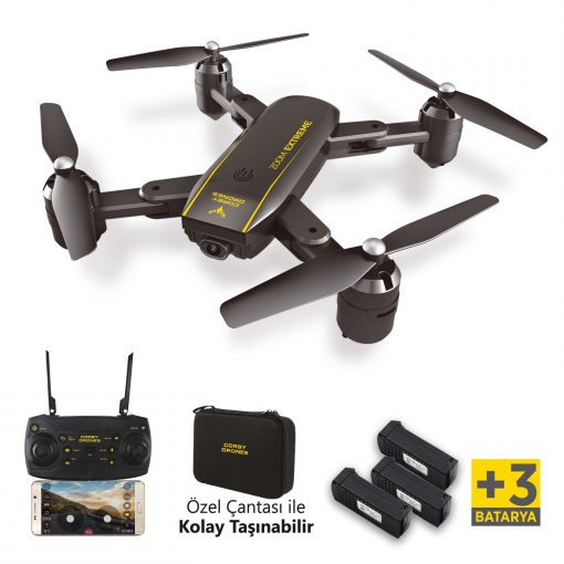 Corby Drones CX015+ 3 Batarya Zoom Extreme Drone